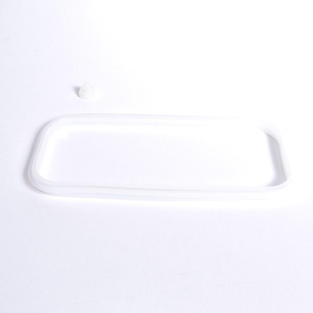 おひとりさま用超高速弁当箱炊飯器用部品(シリコンセット/上フタに嵌めるパッキン&シリコンつまみ各1)