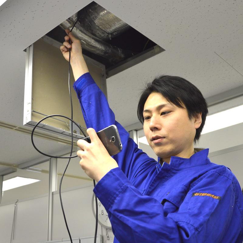 アウトレットAndroid対応5.5mm径内視鏡ケーブル 7M