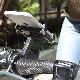 アルミニウム製自転車・バイク用スリムスマホホルダー