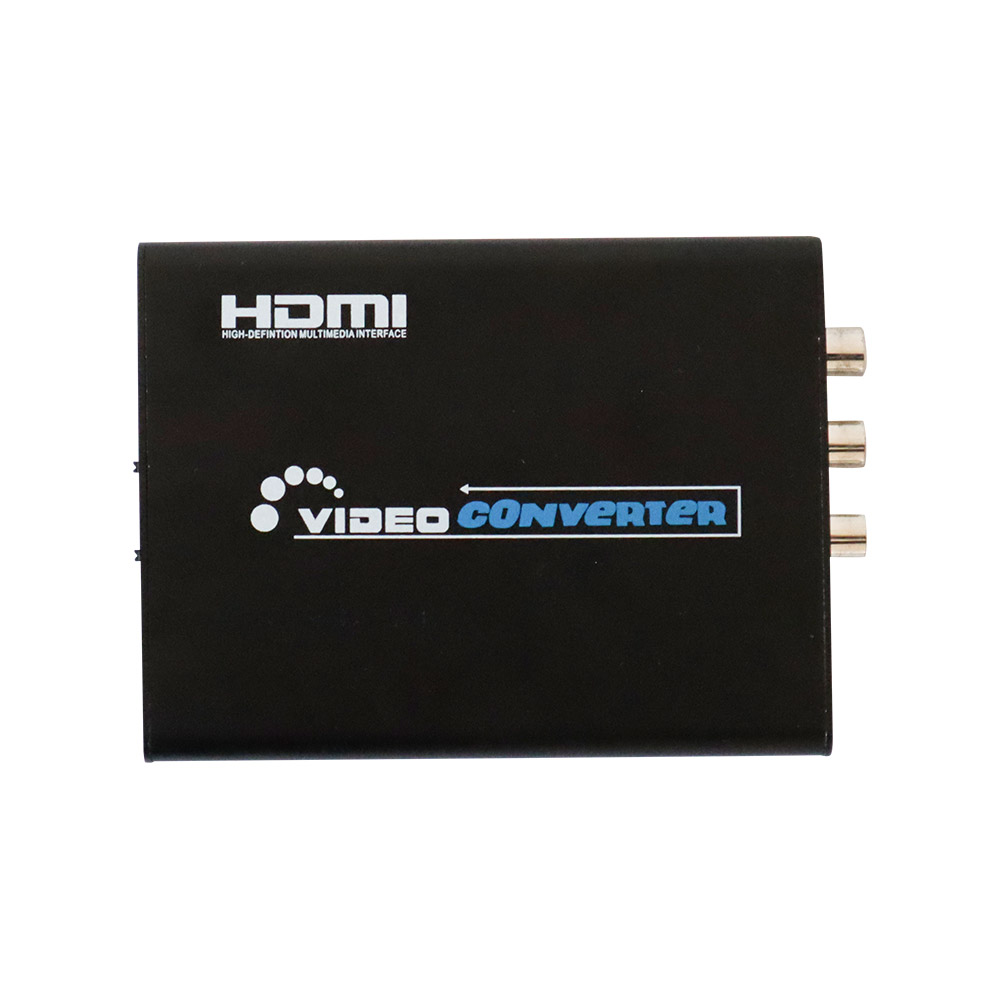 HDMI to S-VIDEO&RCA変換コンバーター