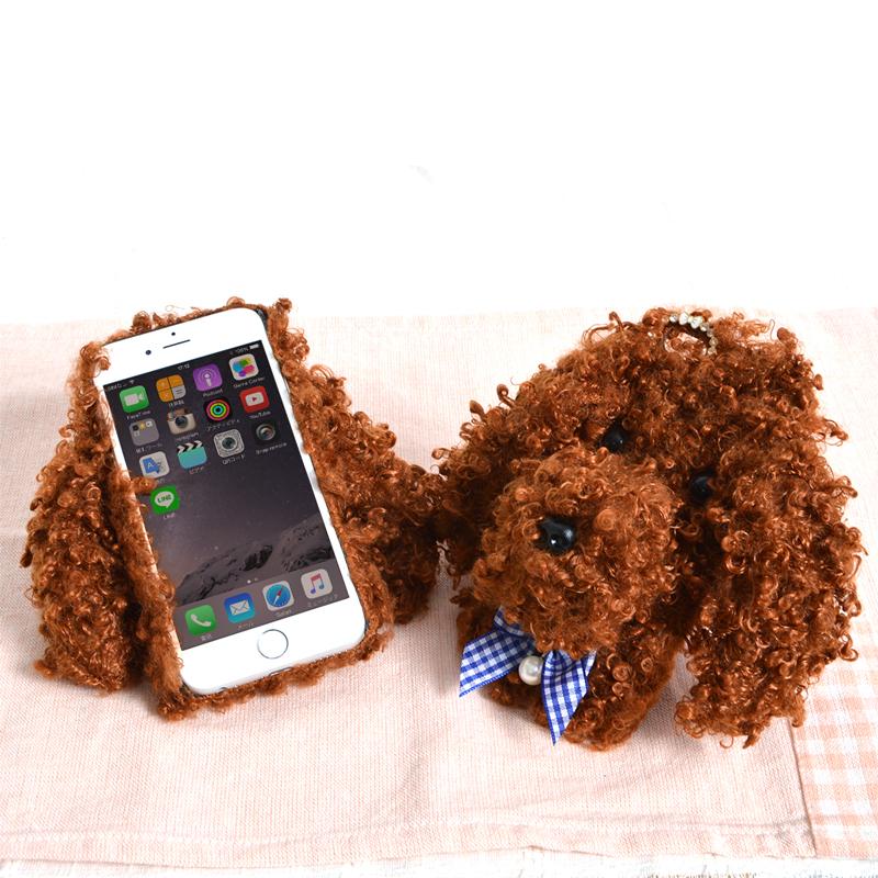 ふわもこトイプードルケース for iPhone 6/6s