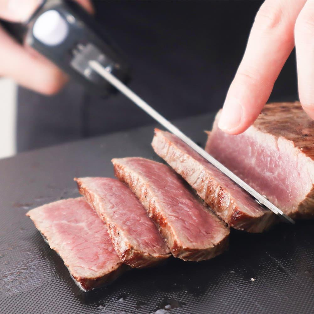 充電式コードレス電動肉&パン切り包丁「エレクトリックナイフ」