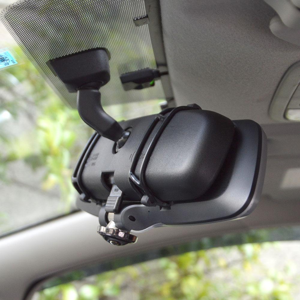 ミラー型360度全方位ドライブレコーダー