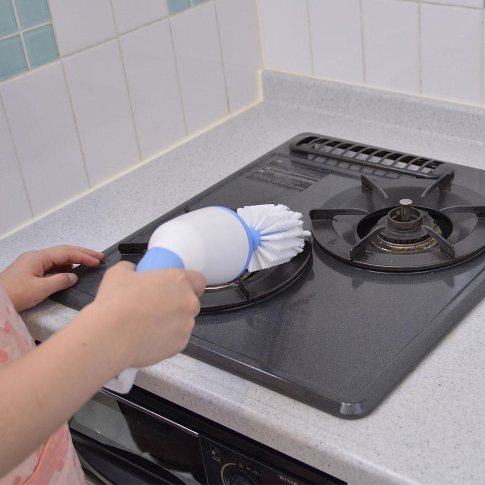 電動回転洗浄ブラシ「くるくるウォッシュ」