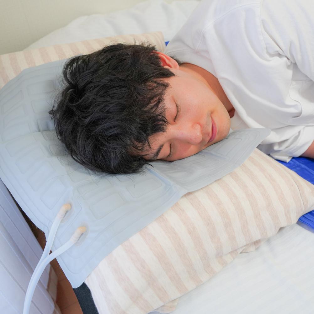 熱帯夜も一晩中熟睡「水が流れる冷感ひんやりマット」用 小マット