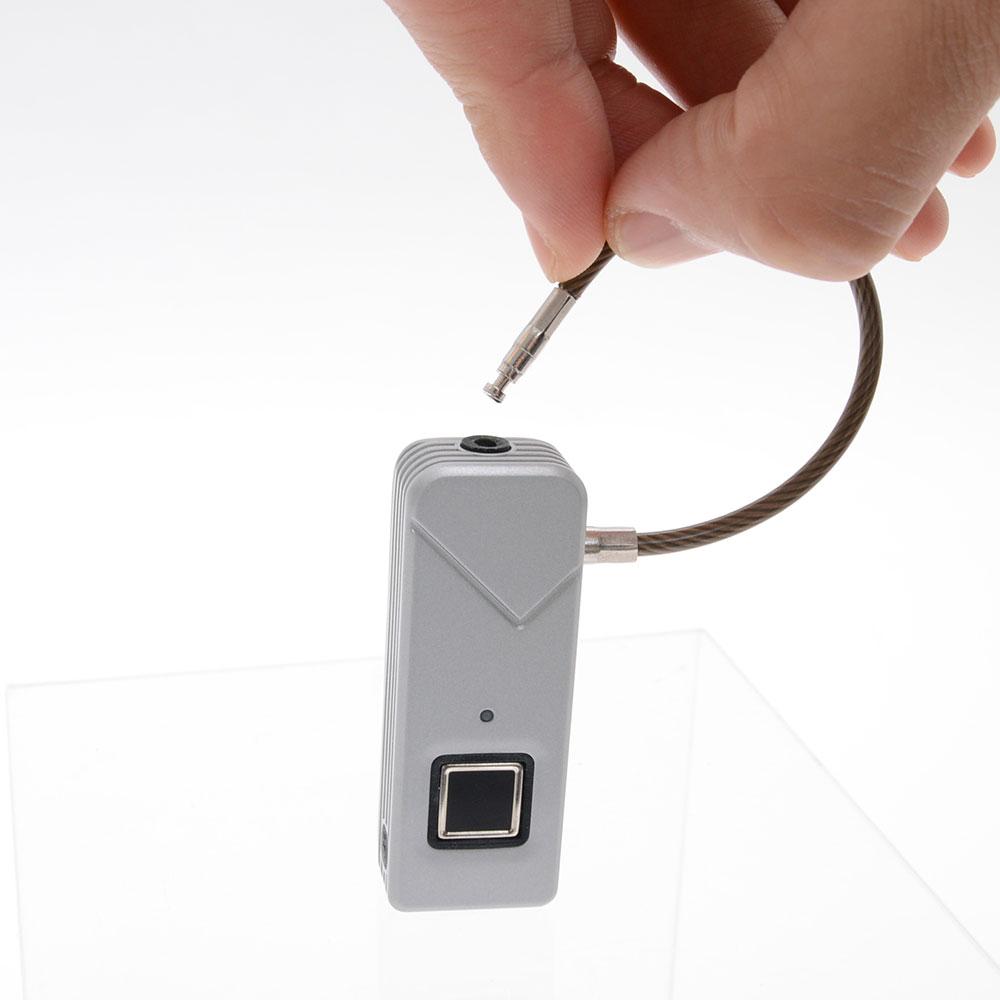 指紋認証キー「タッチでロック」