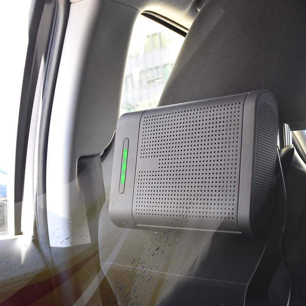 車内まるごと空気清浄「クリーンエアチェンジャー」