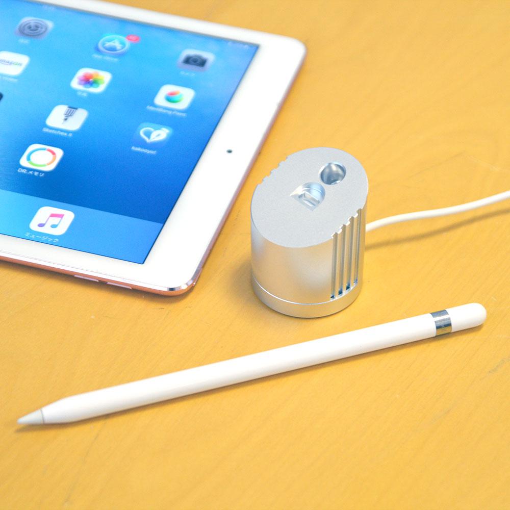 ペン立てにもなるApple Pencil用充電スタンド