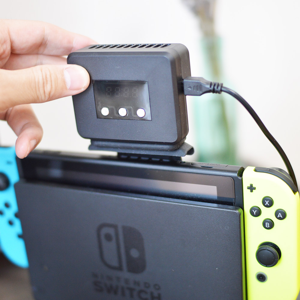 Switch用冷却ファン「Switch冷やすッチ」