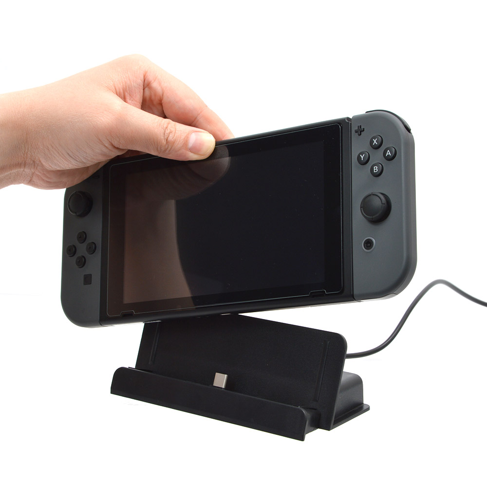 Nintendo Switch用充電スタンド USB Type-C to Aケーブル付き