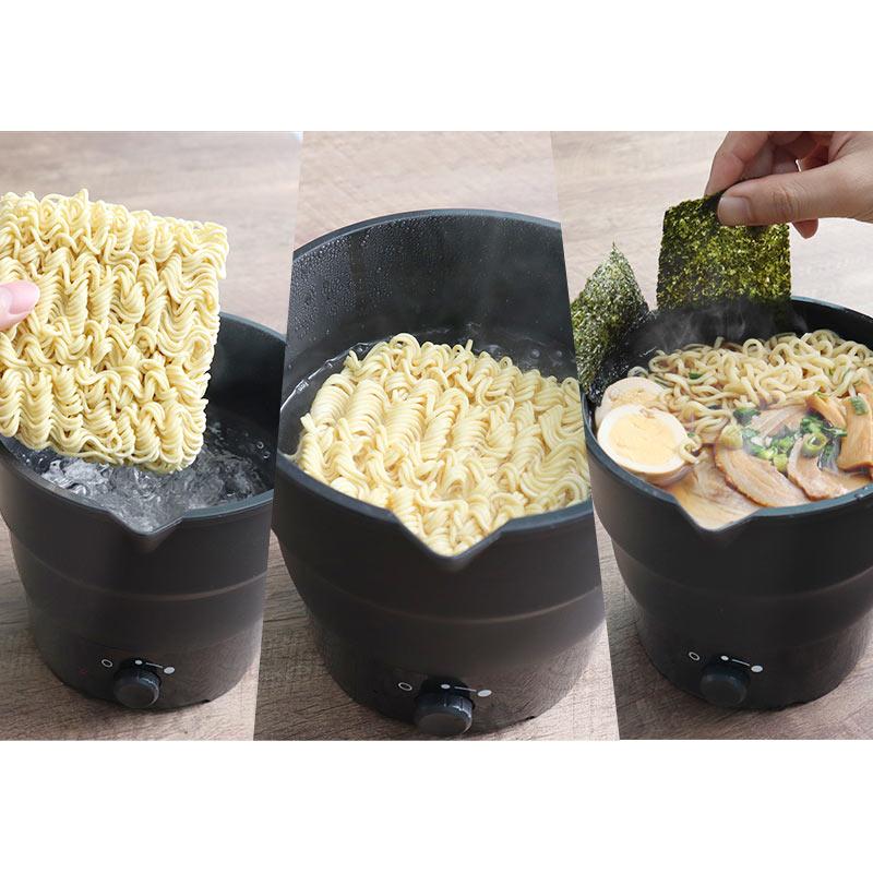 おひとりさま用折りたたみラーメン鍋