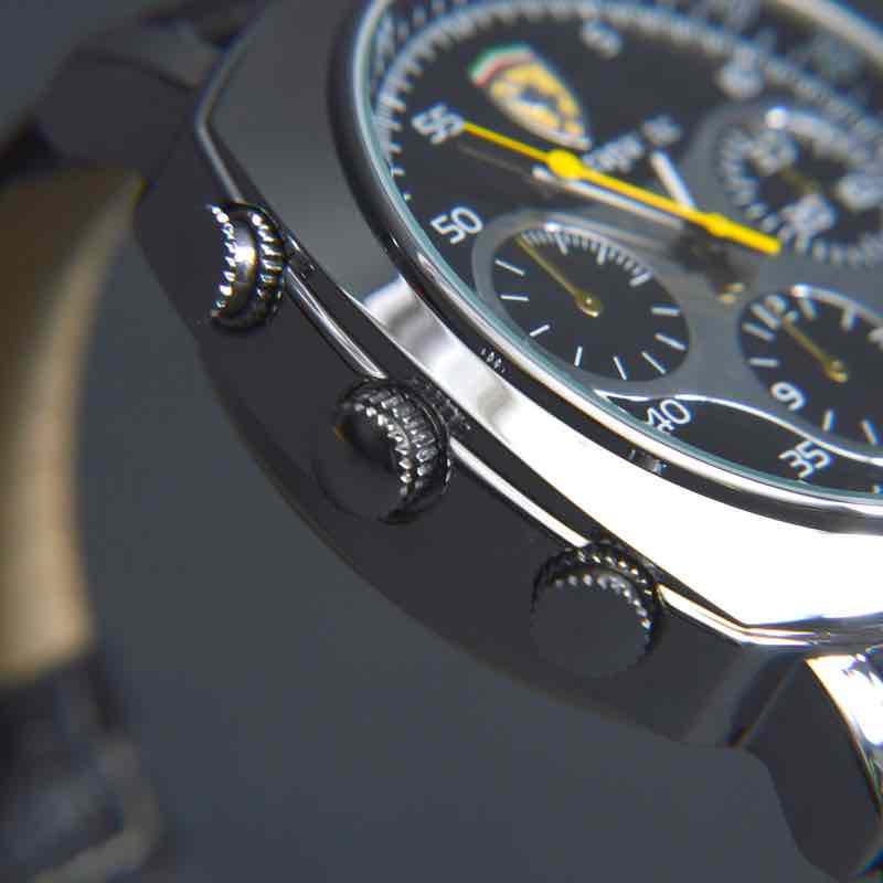TV出力機能付きビデオカメラ腕時計 ブラックバンド