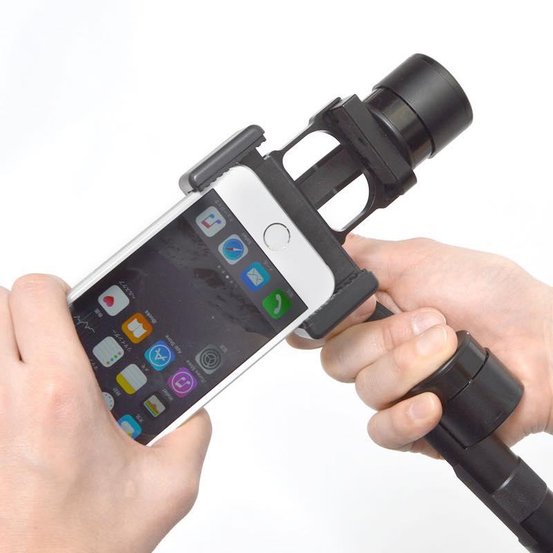 3軸32bit電子制御カメラスタビライザー