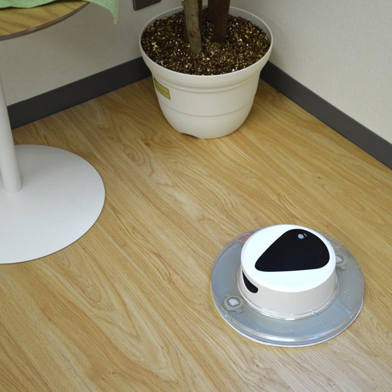 自動水拭き&乾拭きロボット「水ブキーナー」
