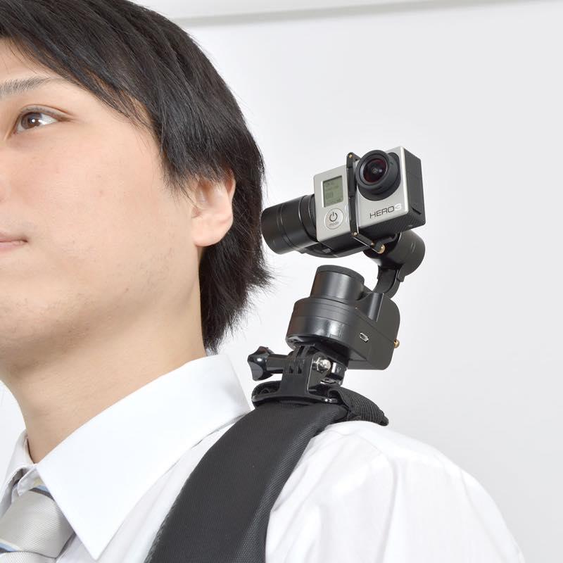 GoPro用ウェアラブル3軸32bit電子制御カメラスタビライザー
