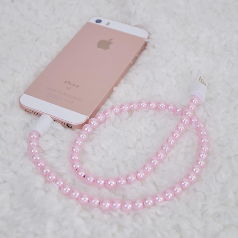 iPhone用ネックレス充電ケーブル