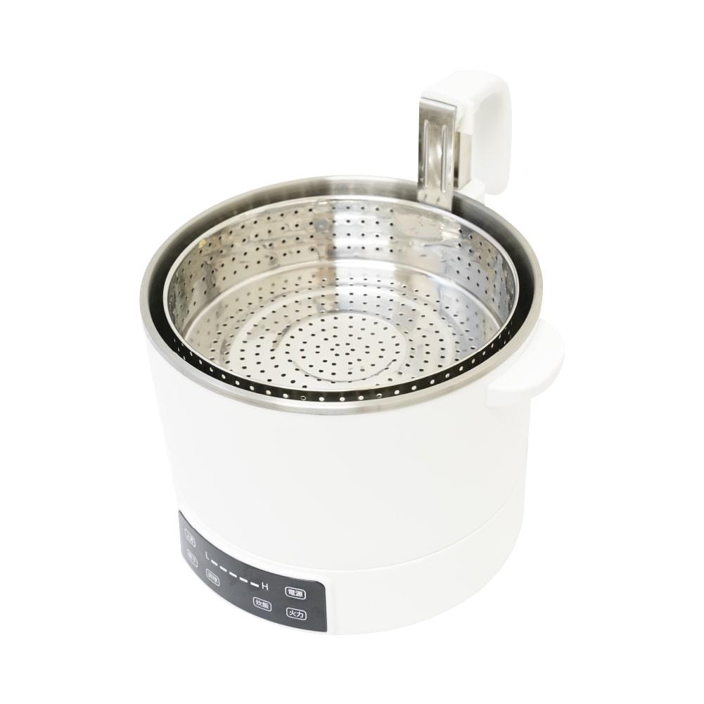 具材とスープを分けられる!「電動昇降グリル鍋」