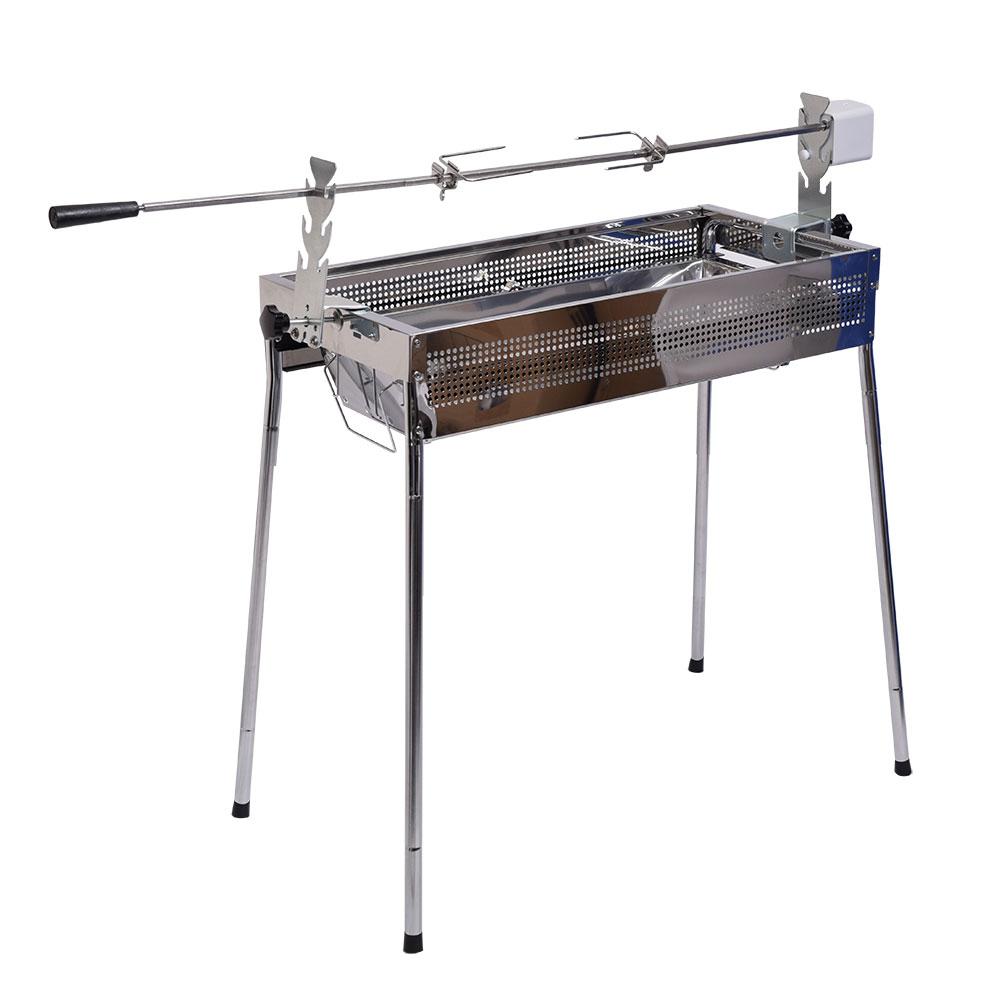自動回転式BBQ用丸焼きロースター
