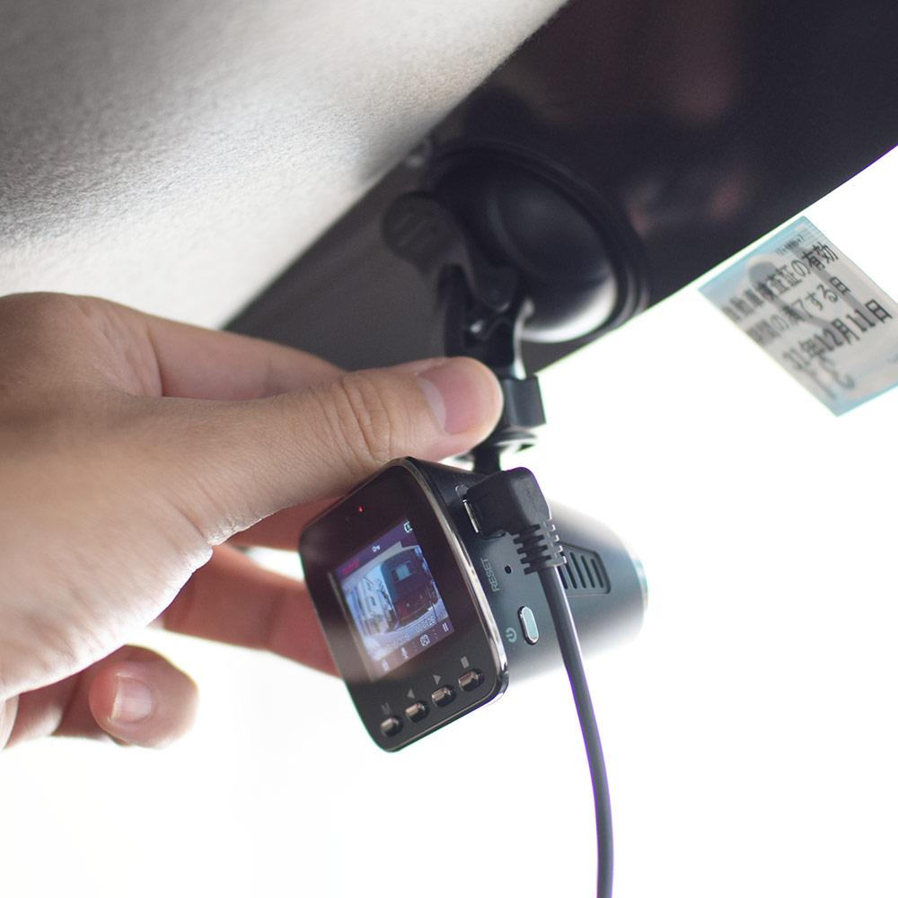 スーパーミニ液晶付きドライブレコーダー2 microSDカード32GB付