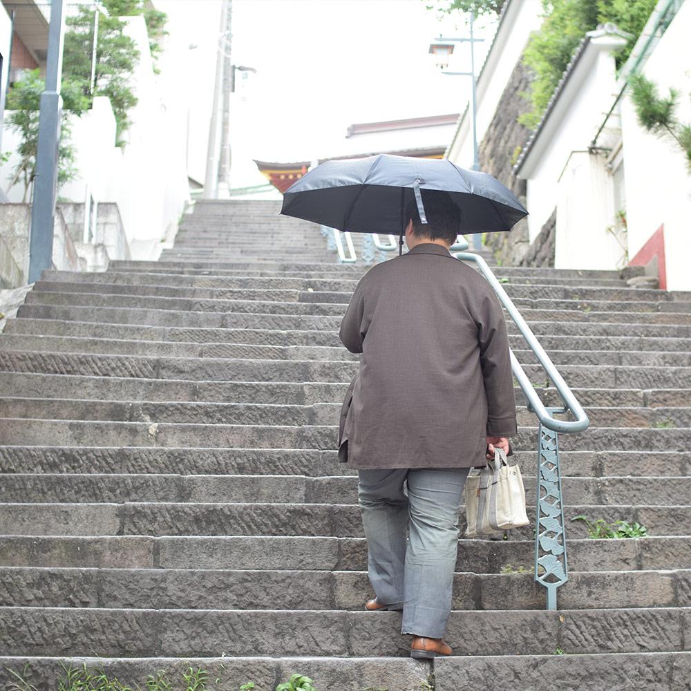 電動スムーズ開閉折りたたみ傘