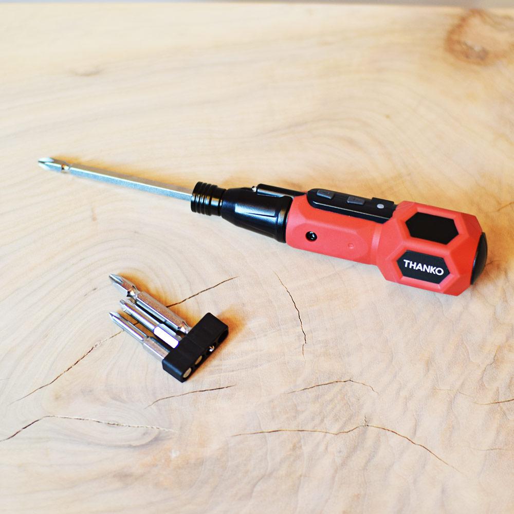 USB充電式2WAY電動ドライバー