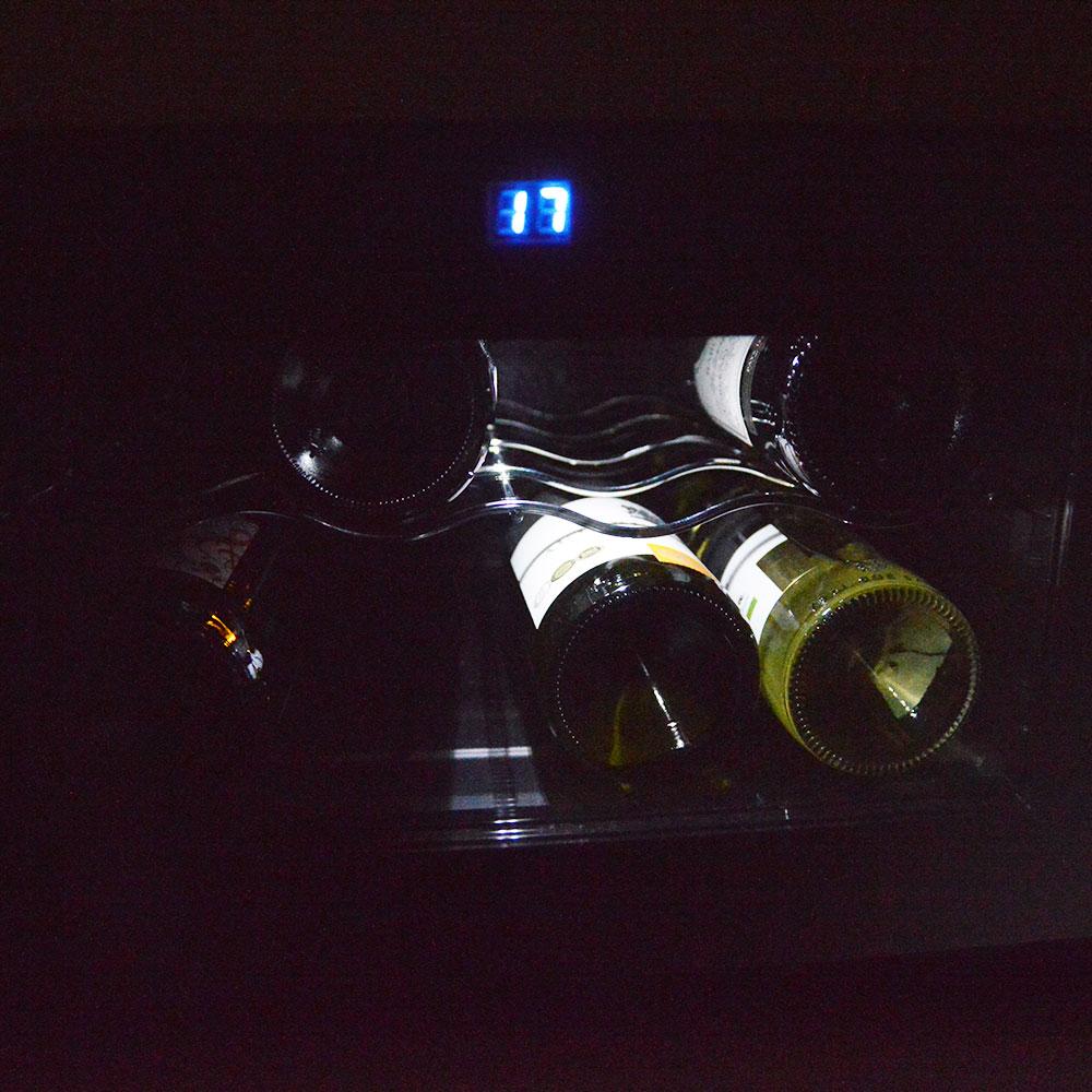 8本収納横置きワインセラー