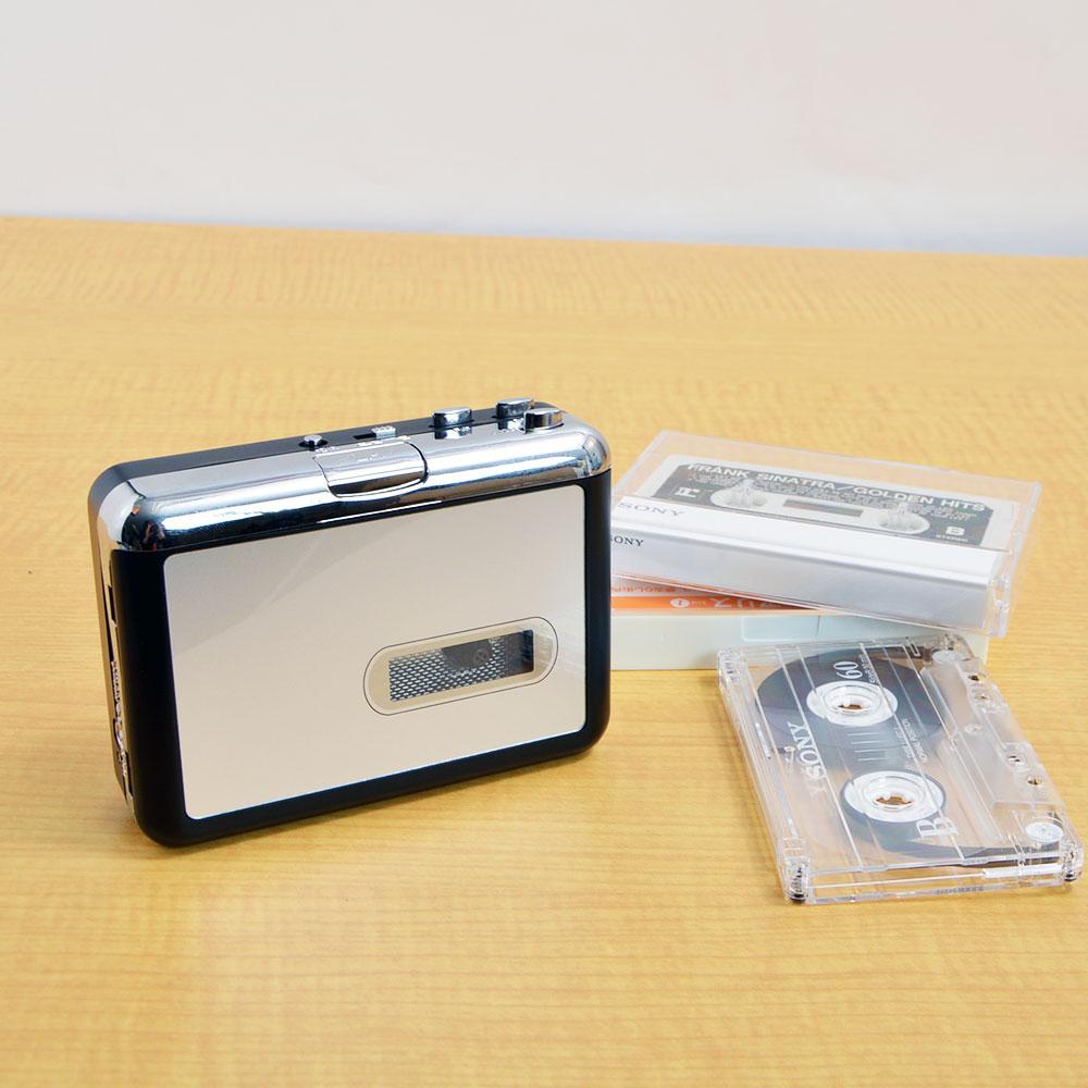 一曲ずつ変換!カセットデジタルコンバーター