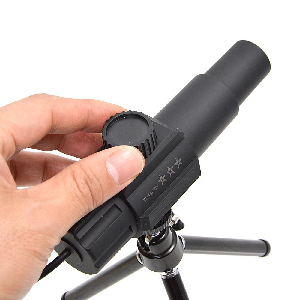 スマホでもパソコンでも使えるUSB70倍望遠カメラ