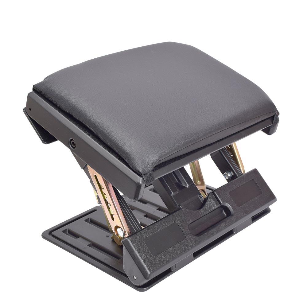 高さ角度調整できる折り畳みタフネスフットレスト