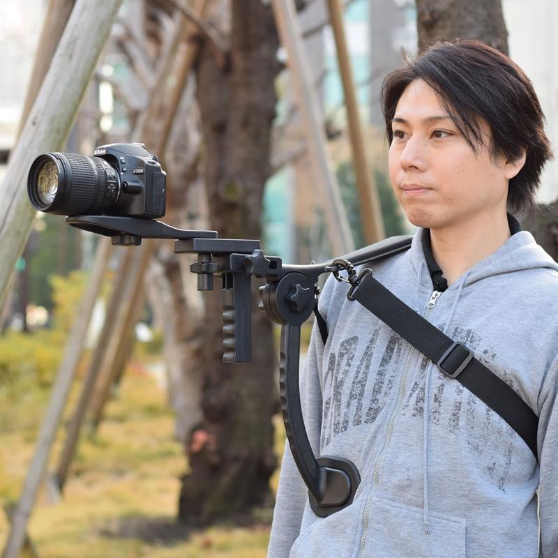 撮影らくらくカメラショルダーパッド