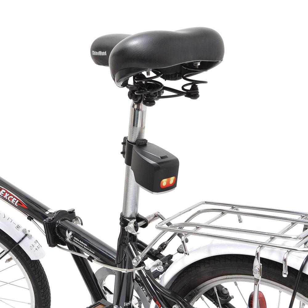 自転車防犯用大音量アラーム&テールライト