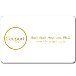 ホ・オポノポノ Ceeportカード<ホワイト>