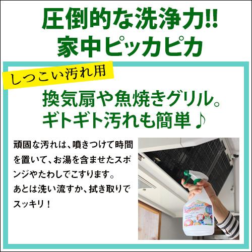 P-UPパワーウォッシュ しつこい汚れ用 (原液タイプ) 480ml(旧商品名:テラ・パワーウォッシュ)