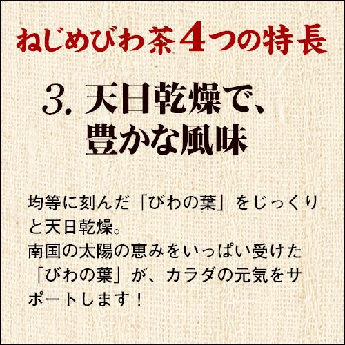 ねじめびわ茶 おひとりさま (20包入)【正規品】