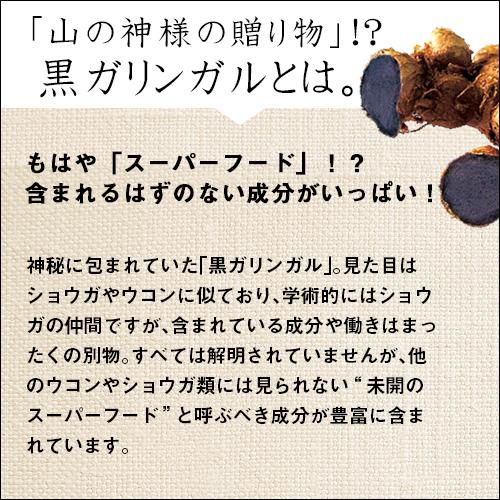 【わくわく定期便】クロガリンダ 60カプセル