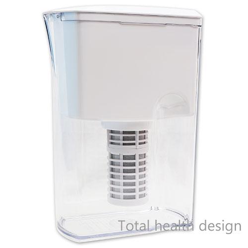 ポット型浄活水器 リセラピッチャー 本体(カートリッジ1本付属)