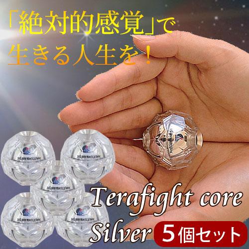 テラファイトコア シルバー(5個セット)【特典付き】