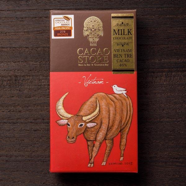 BeanToBar ベトナム ベンチェ ミルク 46%