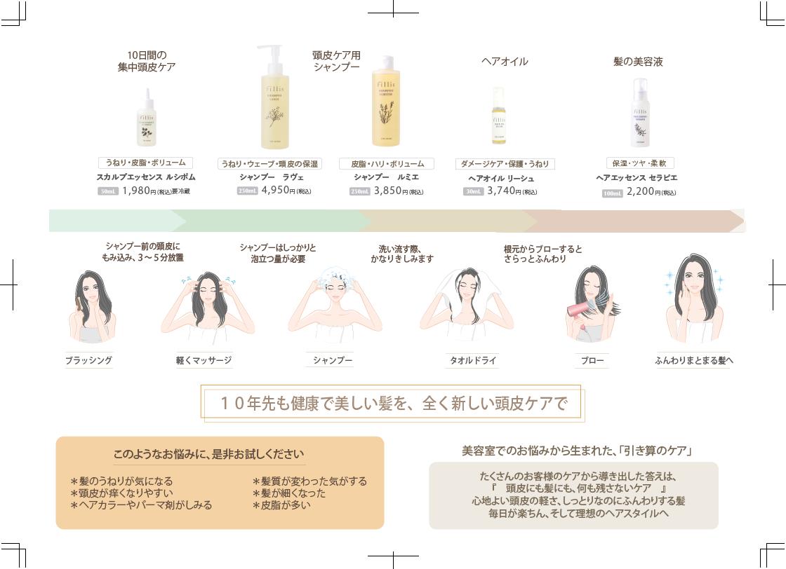 ●ヘアエッセンス セラピエ(髪の美容液)