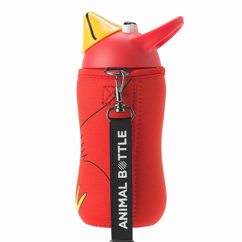 Animal Bottle Red