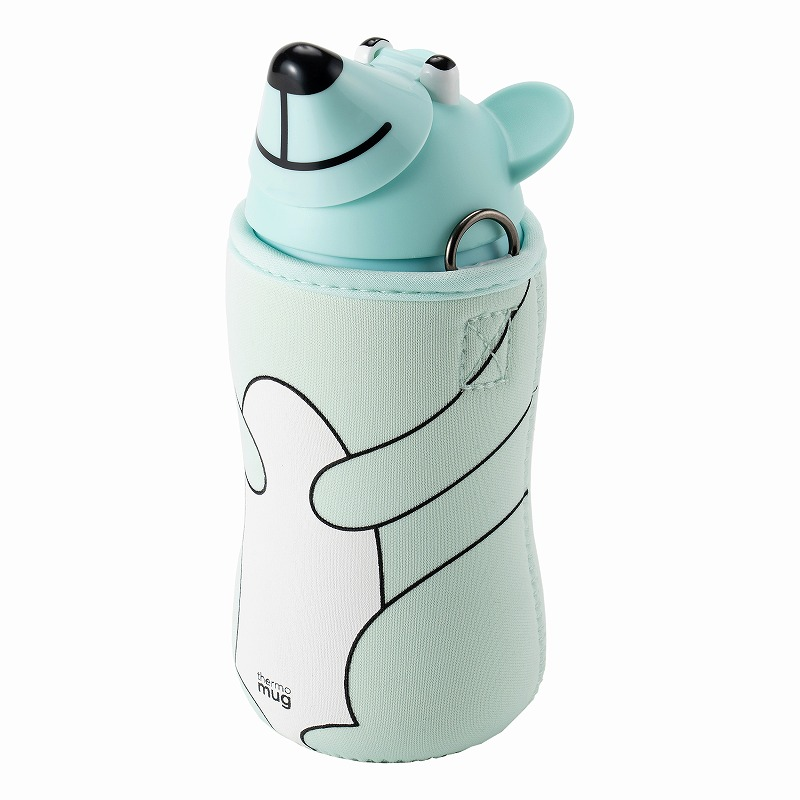 Animal Bottle Bear_Ice Blue