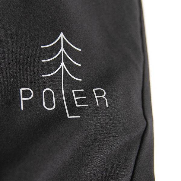 POLER ポーラー クライミングパンツ TREE 9/10 DRY PANTS ジョガーパンツ ブラック アウトドア