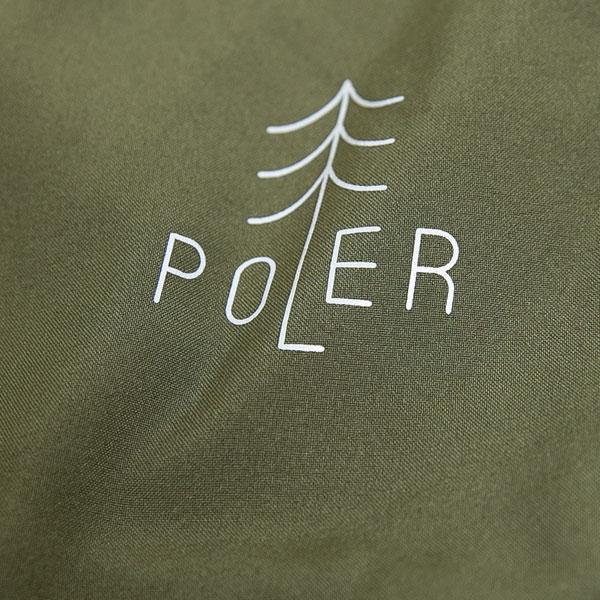 POLER ポーラー クライミングパンツ TREE 9/10 DRY PANTS ジョガーパンツ オリーブ アウトドア