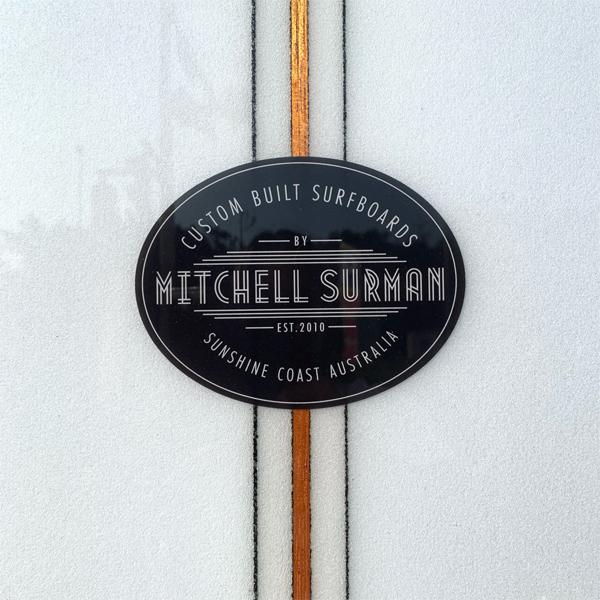 "【OUTLET!】MS SURFBOARDS エムエスサーフボード CINNAMON GIRL 9'4"" シングルフィン ロングボード LOG"