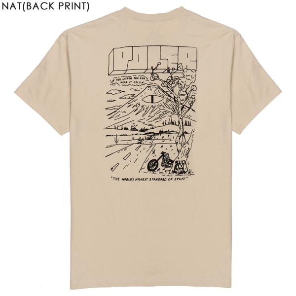 POLER ポーラー Tシャツ 半袖 ブランド アウトドア ポケット TL POCKET TEE
