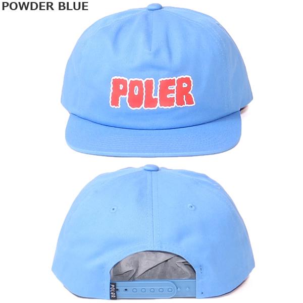 POLER ポーラー キャップ WIGGLE FONT HAT 帽子 メンズ レディース アウトドア 深め