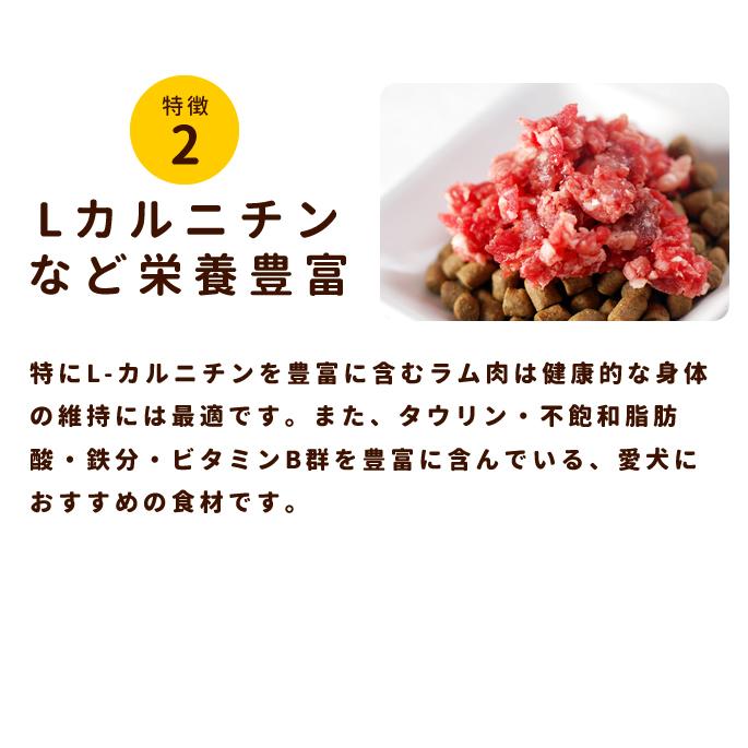 犬用 生肉|ラム肉 荒挽き 小分けパック入り【a0030】※愛猫にもご利用いただけます