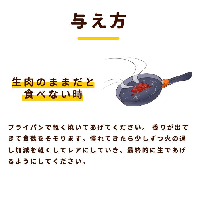 熟成肉エゾ゙鹿生肉小分けトレー粗挽き 1kg【a0303】 ※愛猫にもご利用いただけます