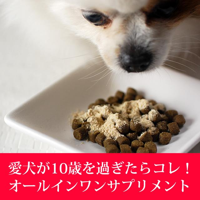 犬用サプリメント 老犬元気 シニア用総合サプリメント【a0007】【定期購入もできます】