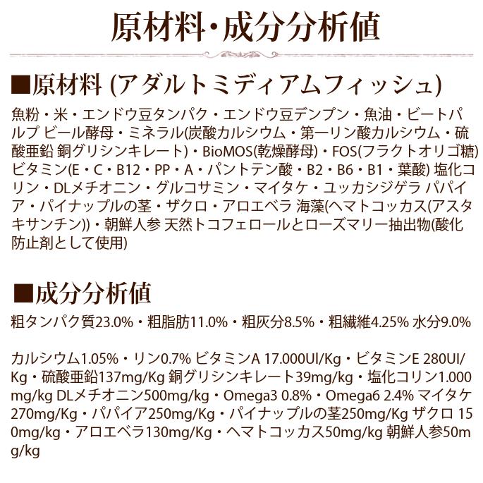 【お取り寄せ】FORZA10|デイリーフォルツァ ローグレイン ミディアムフィッシュ 8kg 中粒 (フォルツァディエチ)※お届けまで1週間程度
